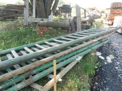 Old Horse Cart ladders