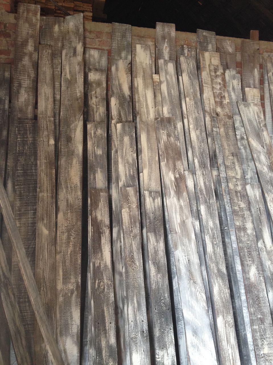 Limewashed Wall Cladding