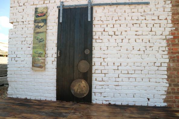 Shou Sugi Ban Barn Sliding Door