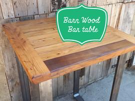Barn Wood Bar Table