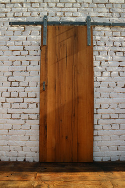 Oiled Oak Barn Sliding Door