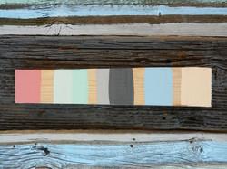 Vintage Beach Hut colour palette
