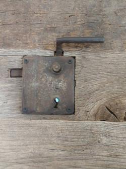 Reclaimed Old Lock Handle