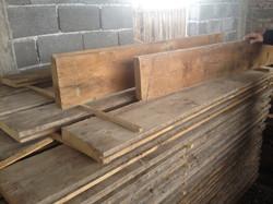 Chunky Pine floorboards