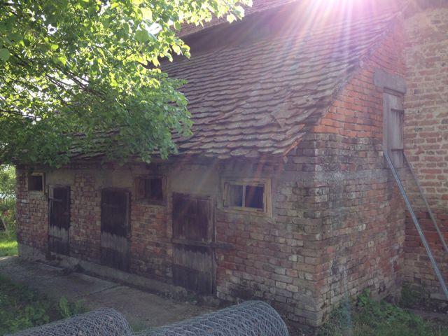 Brick animal stables