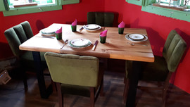 Barn Wood Oak Table