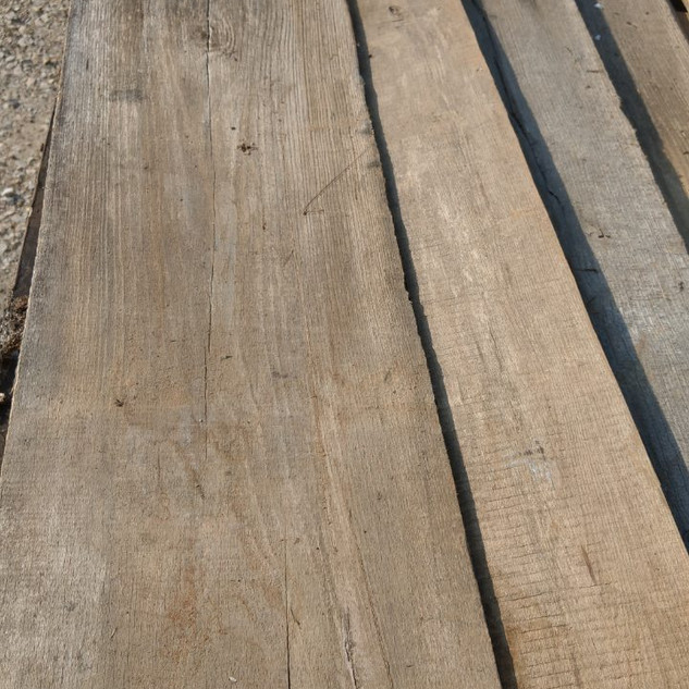 Reclaimed Elm floorboards