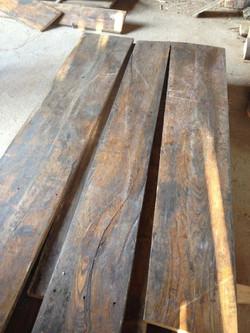 Original Elm flooring