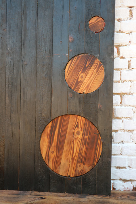 Shou Sugi Ban Barn Sliding Door