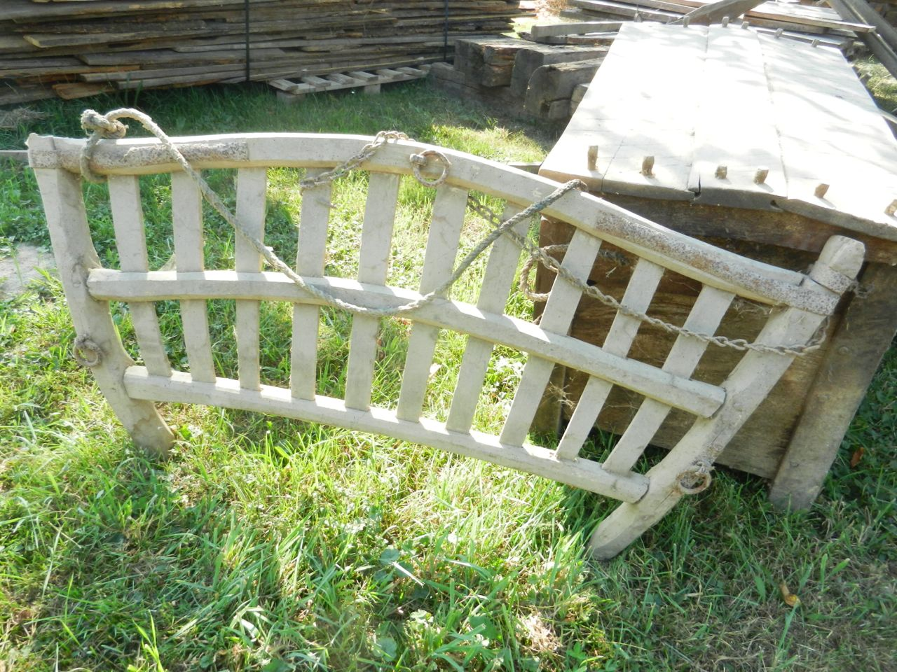 Old Horse Cart ladders - sides