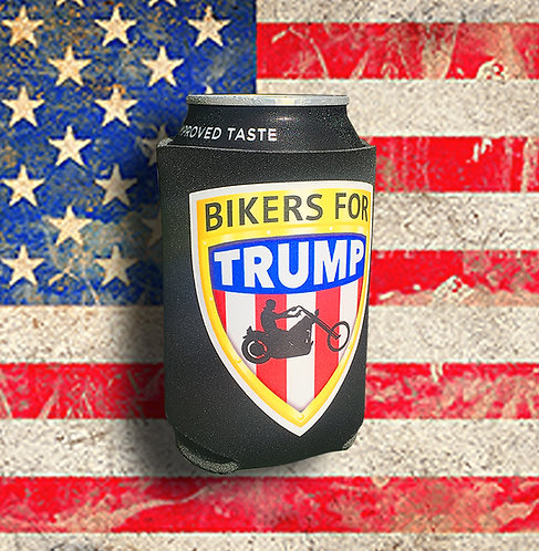 Bikers for Trump Can Cooler