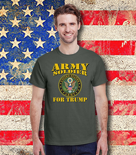 Army Soldier for Trump