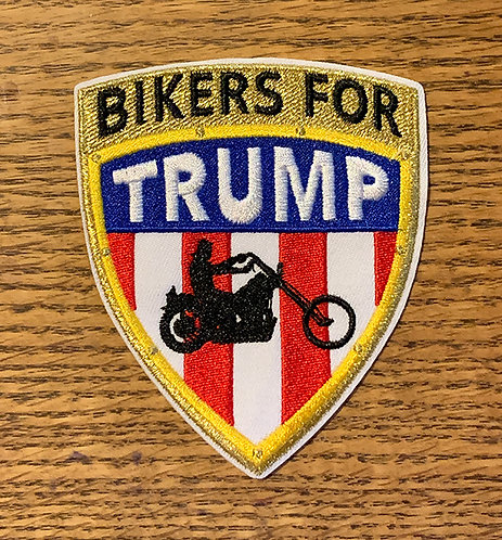 Bikers for Trump 3D patch