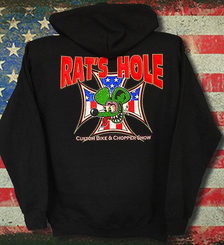 Cw Hoodie American Rat Cross