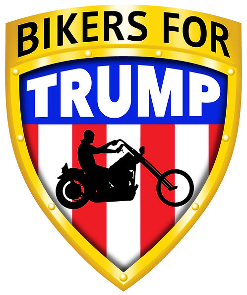 Bikers for Trump Stickers