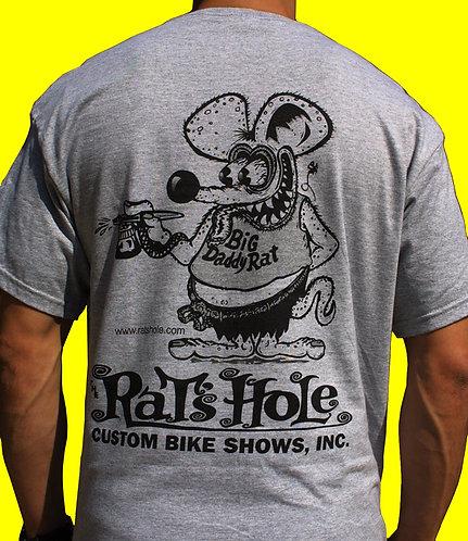 Rat-2 Rat's Hole Ash World Famous BDR logo