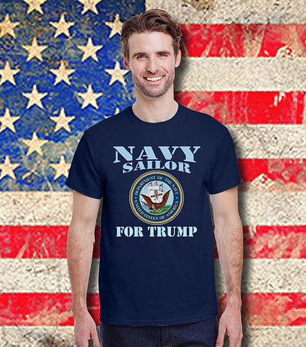 Navy Sailor for Trump