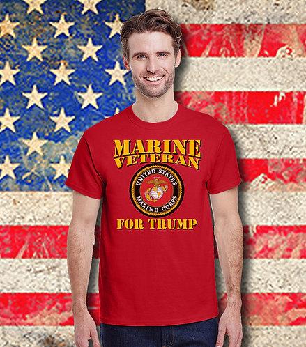 Marine Veteran for Trump