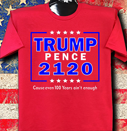Trump 2120 cause even 100 years ain't enough