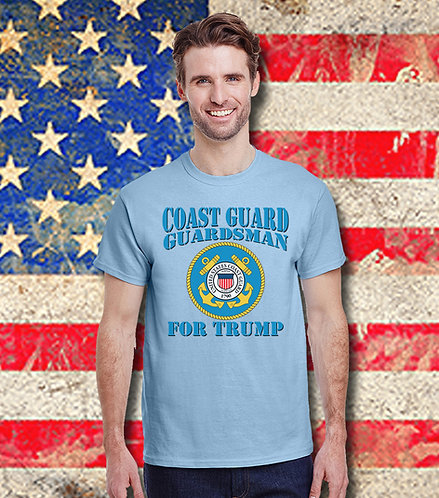 Coast Guard Guardsman for Trump