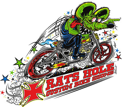 Rat's Hole Cafe Racer Sticker
