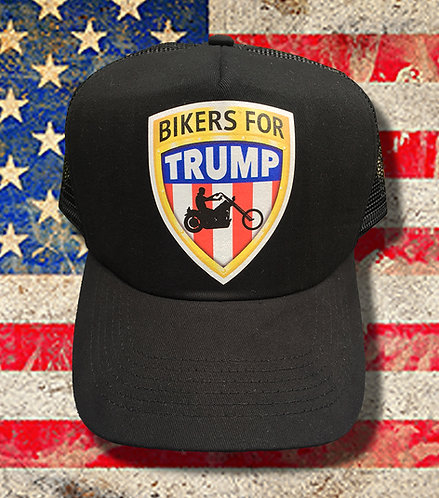 Bikers for Trump Truckers Cap