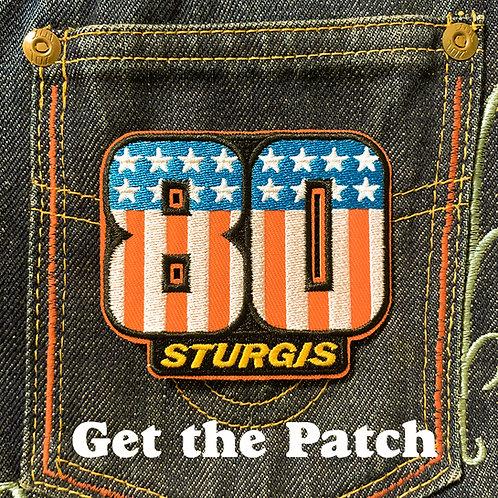 Sturgis 80th 3D patch