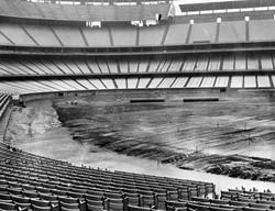 dodger stadium field construction 1962 0