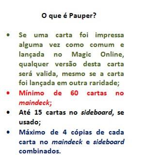 Pauper in Paper no GPSP 2018 - Um breve report