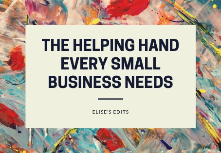 Elise's Edits | The Helping Hand Every Small Business Needs