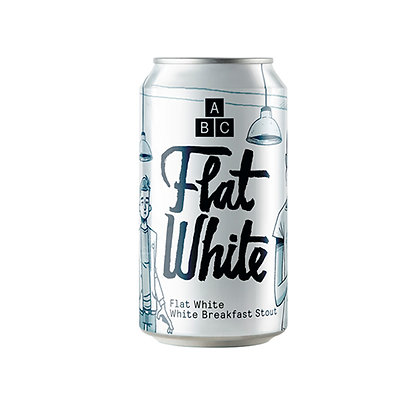 Alphabet Brewing - Flat White. 7.4%