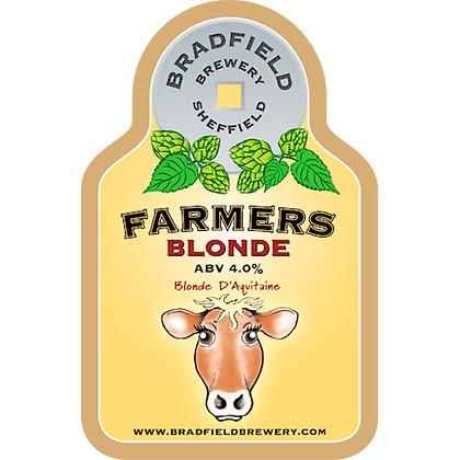 Bradfield - Farmers Blonde. 4.0%