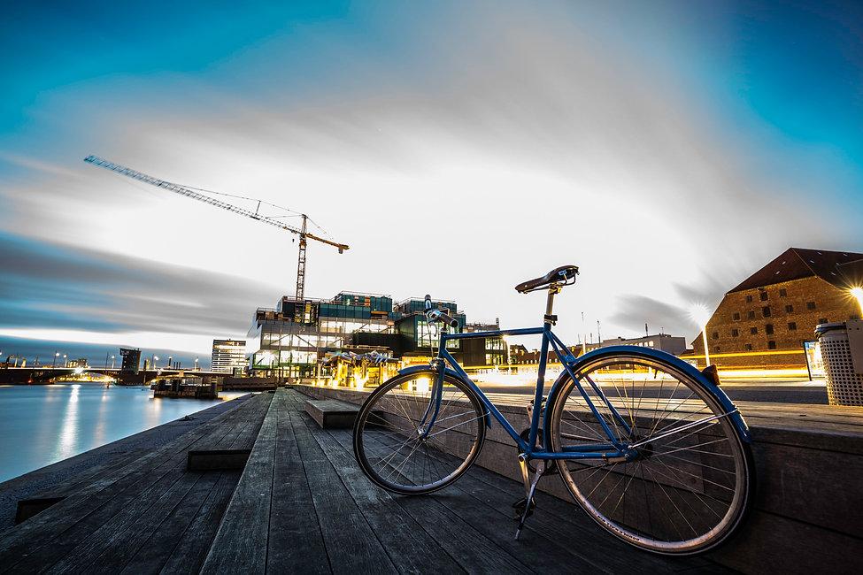Stadt-Velo in Kopenhagen. Photograph: Markus Casutt