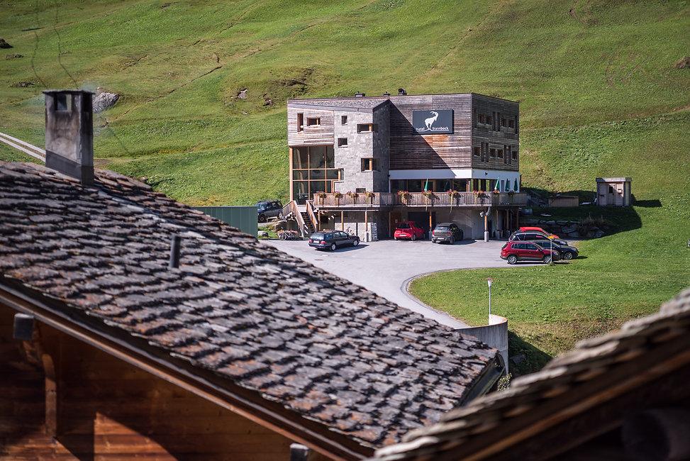 Hotel & Restaurant Steinbock Vals. Photo: Markus Casutt