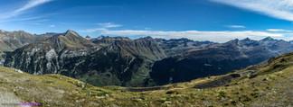 Valsertal Bergpanorama