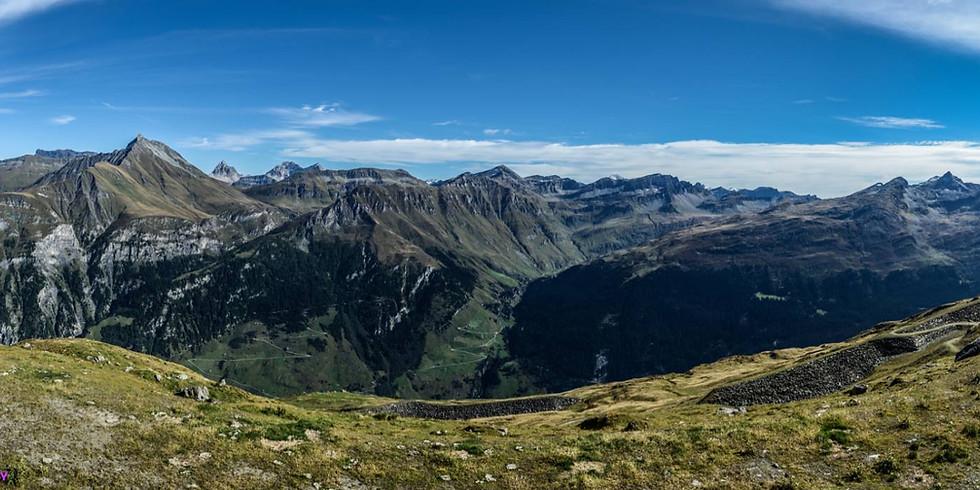 Alpiner Panorama Foto Kurs September