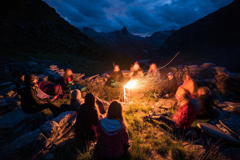 Yoga Retreat im Hotel Steinbock Vals. Photgraph: Markus Casutt