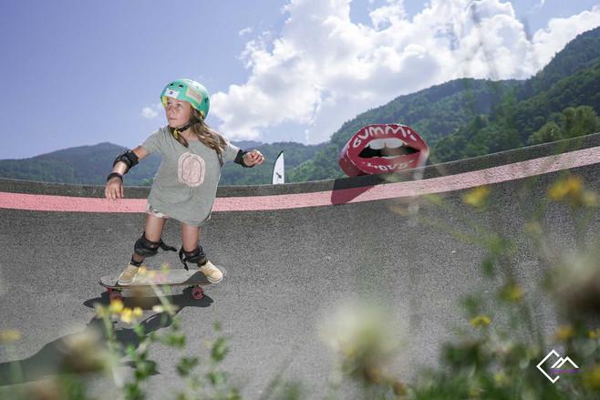 Skateboard Pump King Challenge