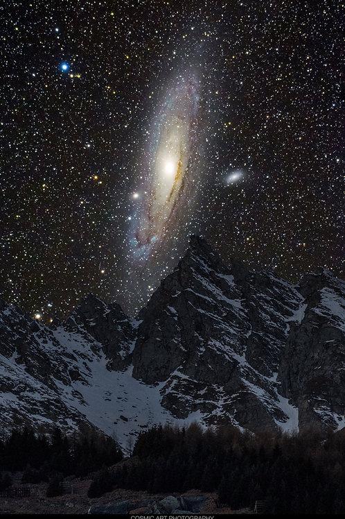 Andromeda Galaxie Satteltilücke