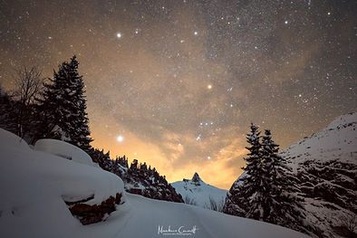 Pfad zum Orion  by Markus Casutt Photography