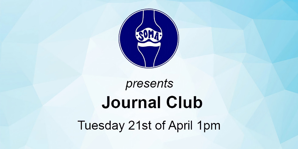 Journal Club by Siddharth Relle