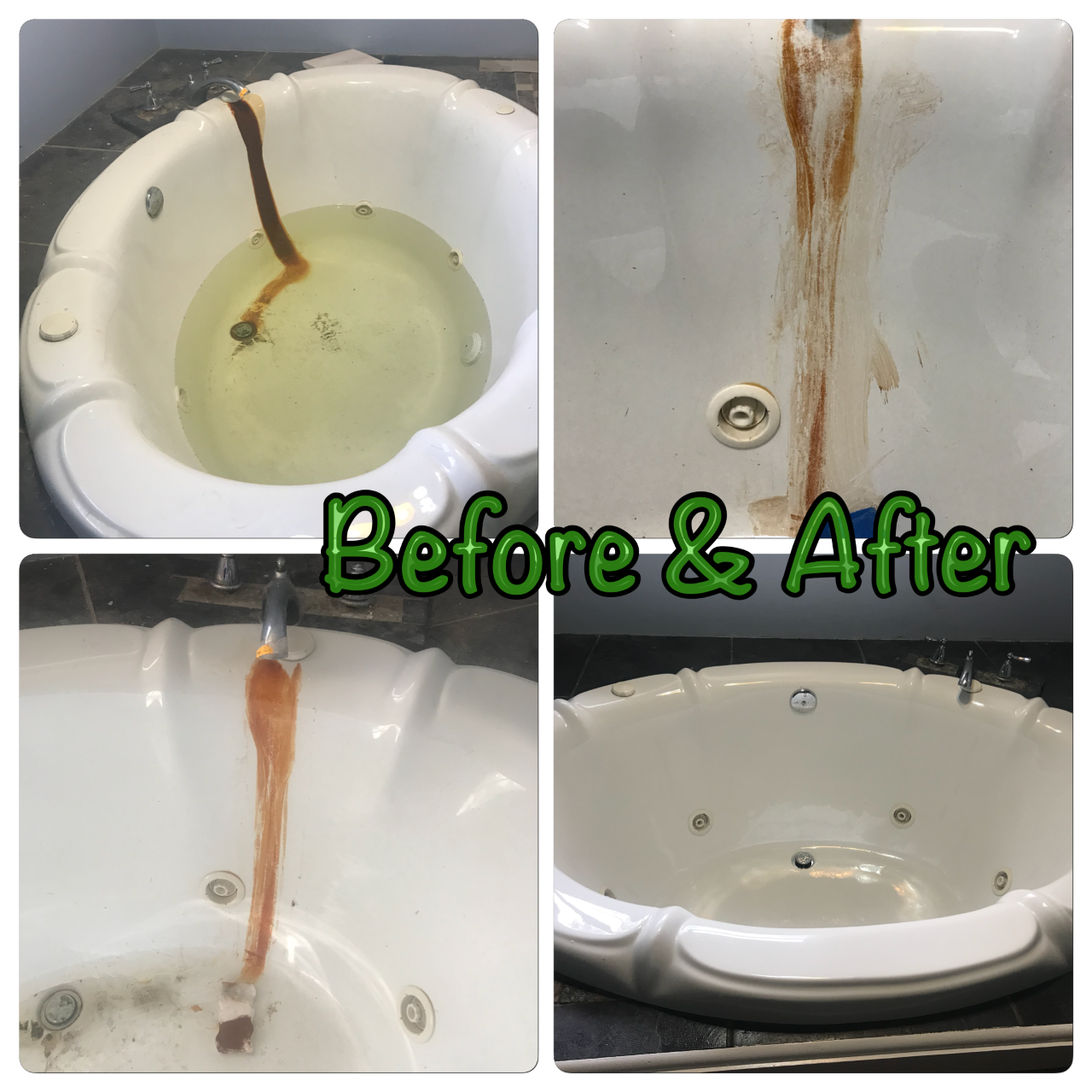 Tub-rust Before and After