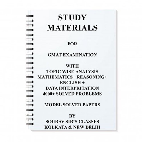 Study Materials For Gmat Exam