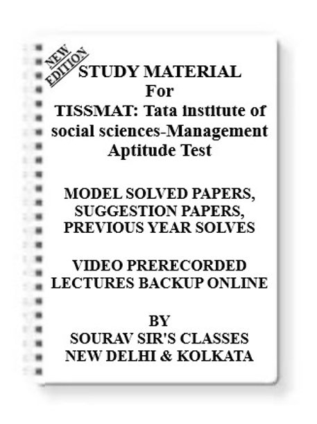 TISSMAT Tata institute of social sciences-Management Aptitude TesT
