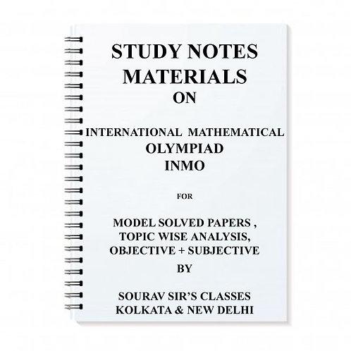 International Mathematical Olympiad INMO