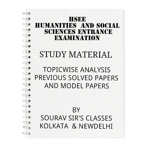 HUMANITIES AND SOCIAL SCIENCES ENTRANCE EXAM (PACK 4 BOOKS)