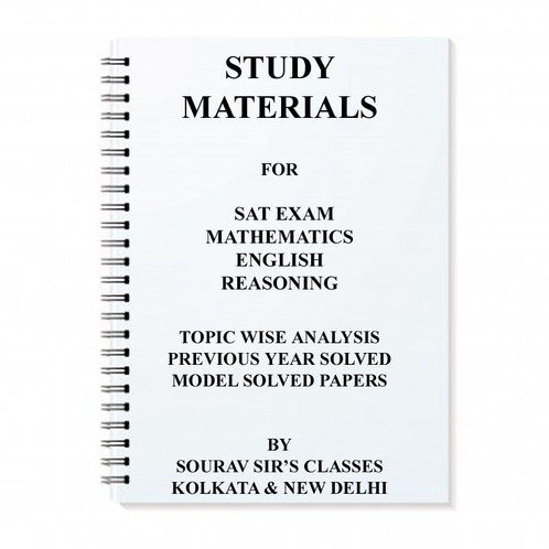Study Notes Materials For Sat Exam