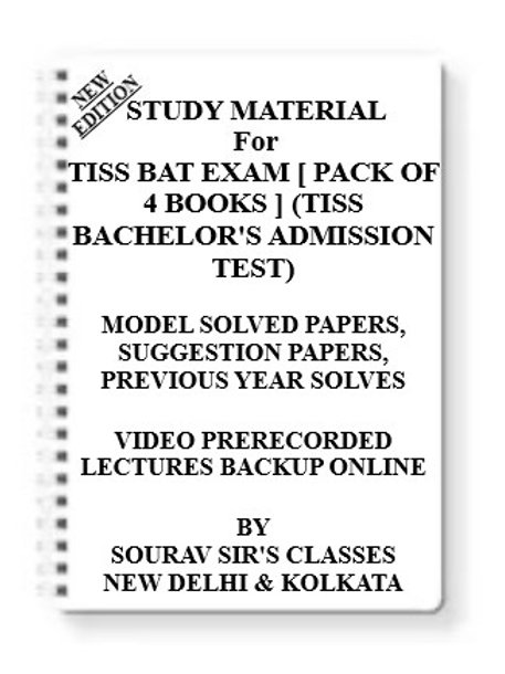 TISS BAT Study Material +MODEL SOLVED PAPERS+SUGGESTION PAPERS+PREVIOUS YEAR SOL