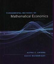 Fundamental Methods of Mathematical Econ