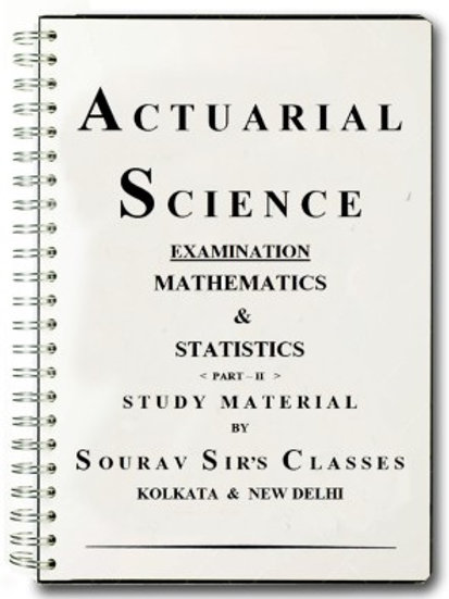 Study Material / Books For Actuarial Science Exam